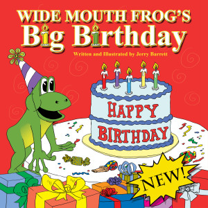 WIde Mouth Frog's Big Birthday